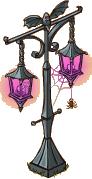 Halloween Street Lamp