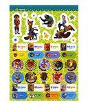 Zootopia Mini Sticker Coloring Set Disney Child Gift Deco Fun Play Diary Present5