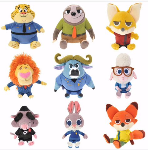 File:Zootopia Japanese plushes.png