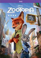 Zootopia DVD cover