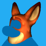 Nick Wilde Head icon