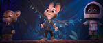 Judy onstage