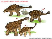 ZT2 EA - Ankyolosaurus
