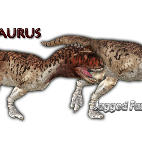 The first Carnotaurus by JFD