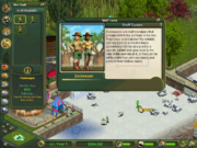 Old zookeeper information window