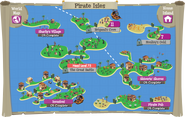 Pirate Isles map