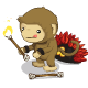 Fire Spinning Monkey Stone Stage 3-icon