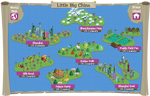 Little Big China map