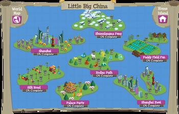 Little Big China map