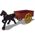 Old Time Fun Horse & Cart-icon
