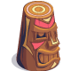Painted Angry Tiki-icon