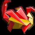 Origami Dragon-icon