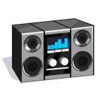 MediaCenter Stereo-icon