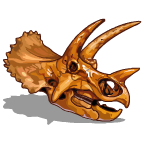 Fossils Triceratops-icon
