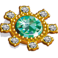 KinglyTreasure EmeraldBrooch-icon