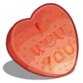Candy Hearts I Wuv You-icon