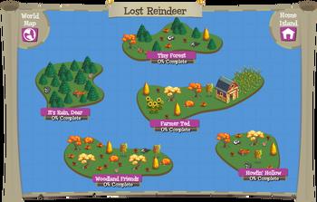 Lost Reindeer map