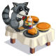 Racoon Table-icon