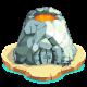 Silver Volcano Trophy-icon