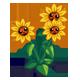 Happy Sunflowers-icon
