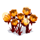 Glowing Flower Bunch-icon