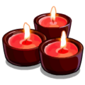 Candles Red Tea Candles-icon