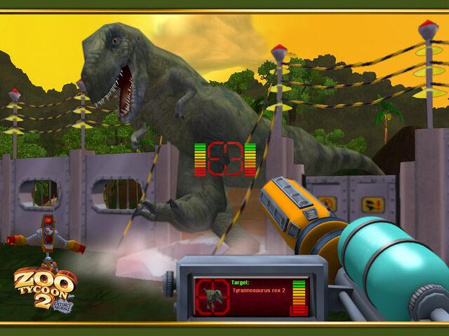 File:Tyrannosaurus Rampage wallpaper.jpg