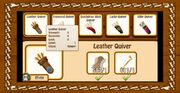 1. leather quiver