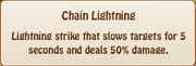 3. chain lightening